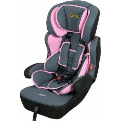 Детское автокресло Selby SC-2015 От 9 до 36 кг серый/розовый 827375