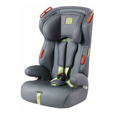 Детское автокресло Happy Baby Atlant От 9 до 36 кг серый/лайм 4690624015083