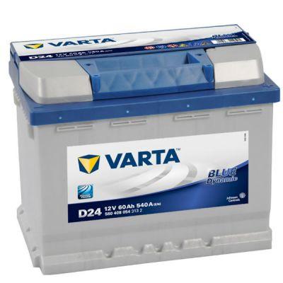 Автомобильный аккумулятор Varta Blue Dynamic 60 о.п. D24 (560 408 054) 9107088