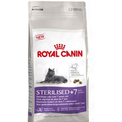 Сухой корм Royal Canin Sterilised 7+ для кастрированных котов и кошек старше 7 лет 1,5кг