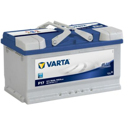 ������������� ����������� Varta Blue Dynamic 80 �.�. F17 (580 406 074) ����. 9107105