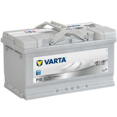 Автомобильный аккумулятор Varta Silver Dynamic 85 о.п. F18 (585 200 080) низк. 9107106