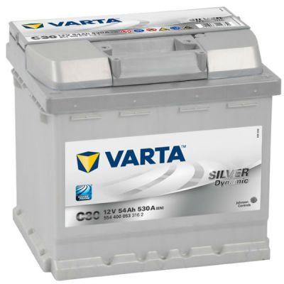 Автомобильный аккумулятор Varta Silver Dynamic 54 о.п. C30 (554 400 053) 9120808