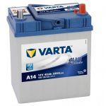 Автомобильный аккумулятор Varta Blue Dynamic Asia 40 о.п. A14 (540 126 033) узк.кл. 9135072