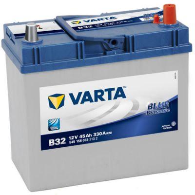 Автомобильный аккумулятор Varta Blue Dynamic Asia 45 о.п. B32 (545 156 033) 9135075