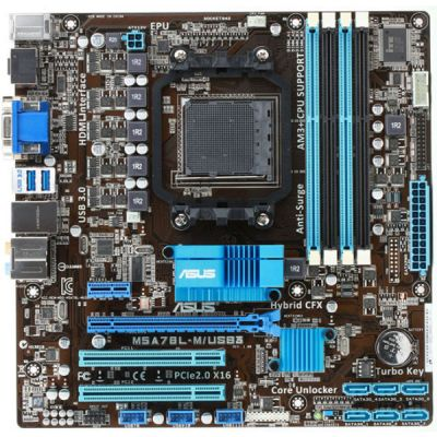 ����������� ����� ASUS M5A78L-M/USB3
