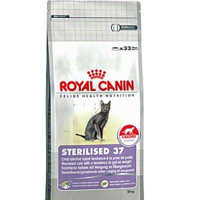 Сухой корм Royal Canin Sterilised 37 для стерилизованных кошек старше 2кг 677020