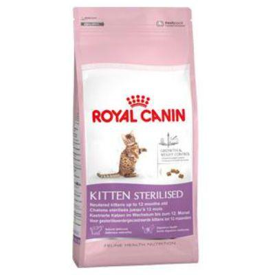 Сухой корм Royal Canin Kitten Sterilised для стерилизованных котят до 12мес. 2кг 532020