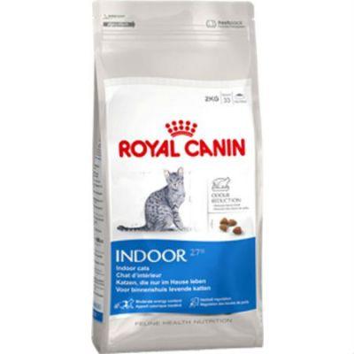 Сухой корм Royal Canin Indoor для кошек живущих в закрытом помещении 2кг 545020