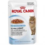 Паучи Royal Canin Ultra Light для кошек в желе 85гр 786001