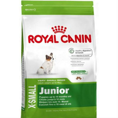����� ���� Royal Canin X-SMALL JUNIOR ��� ������ ����� �� 4�� 2-10 ���. ������ ����� 1,5�� 314015