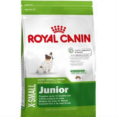 ����� ���� Royal Canin X-SMALL JUNIOR ��� ������ ����� �� 4�� 2-10 ���. ������ ����� 500� 314005