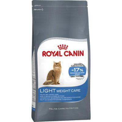 Сухой корм Royal Canin Light weight care для кошек склонных к полноте 400г 644004