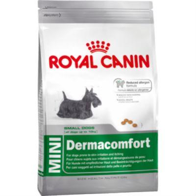 Сухой корм Royal Canin MINI DERMACOMFORT для собак с чувствительной кожей 800г 308008