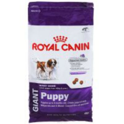 Сухой корм Royal Canin GIANT PUPPY для щенков 2-8 мес. 4кг
