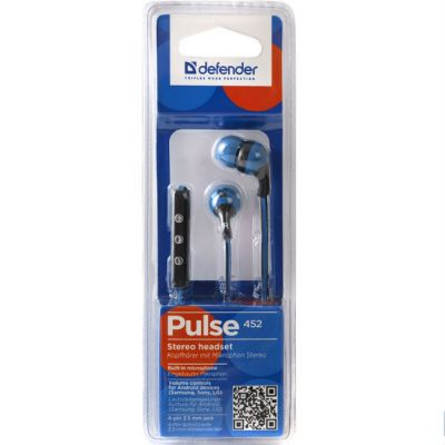 ��������� Defender Pulse-452 Blue 63452
