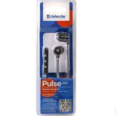Гарнитура Defender Pulse-453 Black 63453