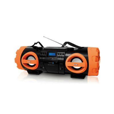Магнитола BBK BX999BT черный/оранжевый