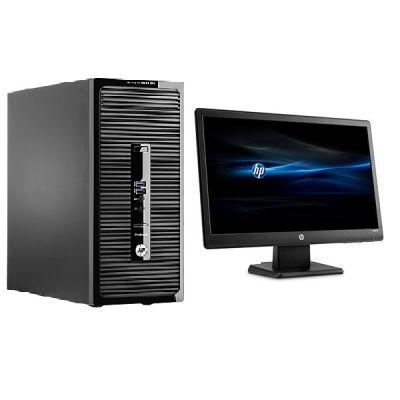 """Комплект HP Десктоп 400 G3 MT + Монитор V212a 20.7"""" T9S66EA"""