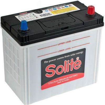 Автомобильный аккумулятор Solite Asia 50 А/ч, о.п.,тонк.кл. (65B24L) 9135123