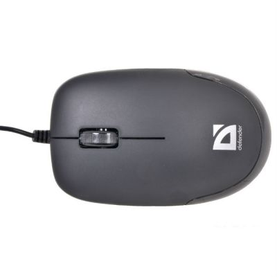Мышь проводная Defender Datum MM-010 Black 52010