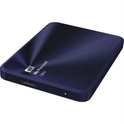 ������� ������� ���� Western Digital WDBW5L0010BBA-EEUE My Passport Ultra Metal Edition Blue-Black