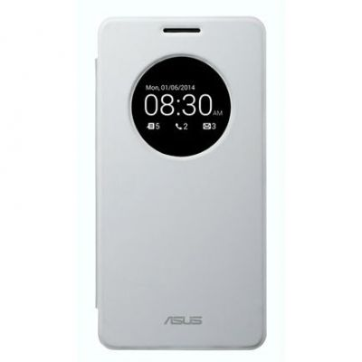Чехол ASUS для ZenFone 5, белый флип-кейс 90XB00RA-BSL1X0