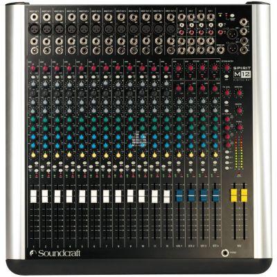 Микшерный пульт Soundcraft M12 аналоговый