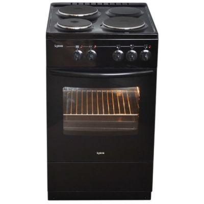 Электрическая плита Лысьва ЭП 301 МС черная, без крышки