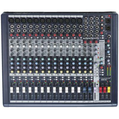 Микшерный пульт Soundcraft MFXi12 аналоговый