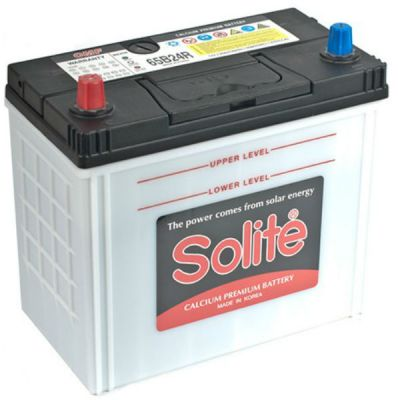 Автомобильный аккумулятор Solite Asia 50 А/ч, п.п.,тонк.кл. (65B24R) 9135125