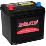 Автомобильный аккумулятор Solite Asia 50 А/ч, п.п.(50AR) квадрат с буртиком 9135126