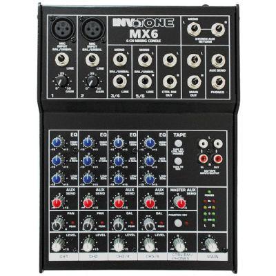 Микшерный пульт Invotone MX6 аналоговый