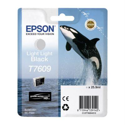 Картридж Epson T7609 Black/Черный (C13T76094010)