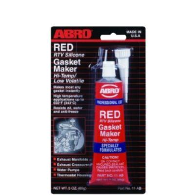 Герметик Abro прокладок красный 11-AB-42-R 42,5 г.