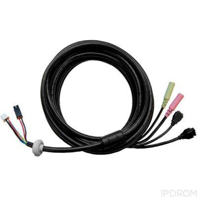 Многоразъемный соединительный кабель AXIS P55/Q60, длина 5 м