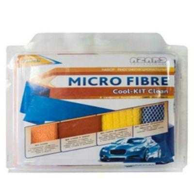 Azard Набор для мойки автомобиля из микрофибры Cool-kit Clean 30х40 (4шт.) AMF-07