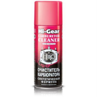 Hi-Gear HG3116 Аэрозоль для очистки карбюратора ,синтетическая формула 354г