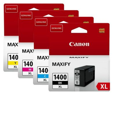 Картридж Canon набор PGI-1400XL Black/Cyan / Magenta / Yellow – Черный/Зеленовато - голубой / Пурпурный / Желтый (9185B004)