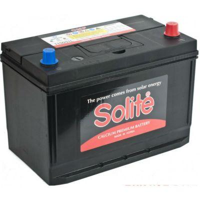 Автомобильный аккумулятор Solite Asia 95 А/ч, о.п. (115D31L) B/H с буртиком (2015) 9135139