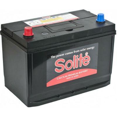Автомобильный аккумулятор Solite Asia 95 А/ч, п.п. (115D31R) B/H с буртиком (2015) 9135141