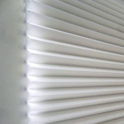 Жалюзи Redi Shade плиссе Easy Lift — легкий светофильтр, белые, 121х162 (Light Filtering Pleated) RD3506164