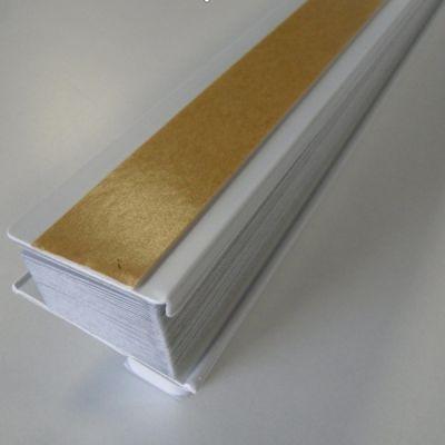 Жалюзи Redi Shade плиссе Easy Lift — легкое затемнение, белые, 121х162 (Light Bloking Pleated) RD3507161