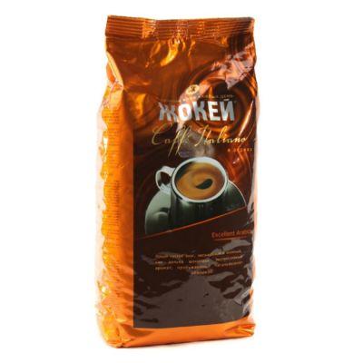 Кофе Жокей Caffe Italiano (500г, зерновой, жареный, высший сорт) 0502-12