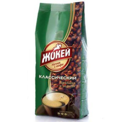 Кофе Жокей Классический (100г, зерновой, жареный, высший сорт) 1085-42