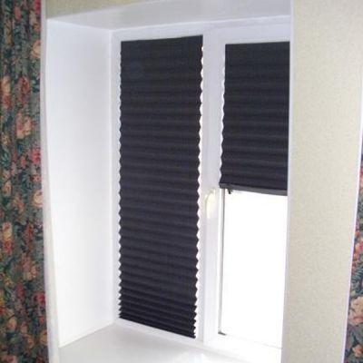 Жалюзи Redi Shade бумажные жалюзи, черные (блэкаут), 91х182 RD3002383