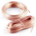 Kicx Акустический кабель 14AWG, 12м, прозрачный SCC-1412
