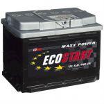 Автомобильный аккумулятор Ecostart 55 о.п. 9174314