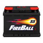 Автомобильный аккумулятор FireBall 6СТ-55 (1) п.п. 9168494