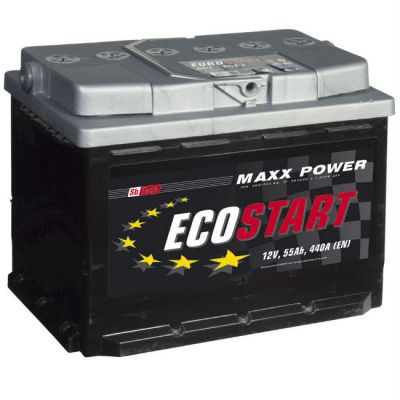 Автомобильный аккумулятор Ecostart 60 п.п. 9174316